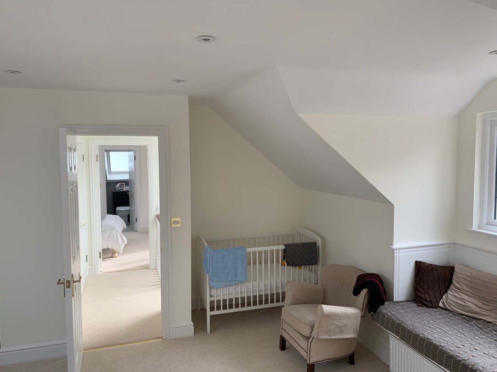 Complete multi-room loft conversion